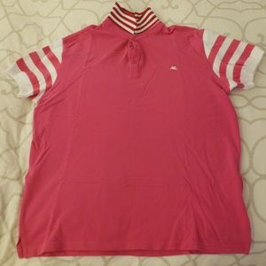 Authentic Etro Mens Pink Polo XL